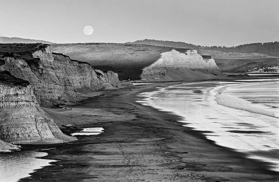 Marty Knapp | Drakes Moonrise | Point Reyes Station, CA | 2014